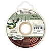 Rattail Cord 2mm 20 Yds With Re-useable Bobbin Light Chocloate